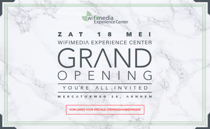 Grand Opening Wifimedia Experience Center
