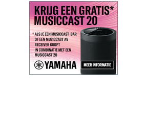 Yamaha Gratis MusicCast 20 Promotie