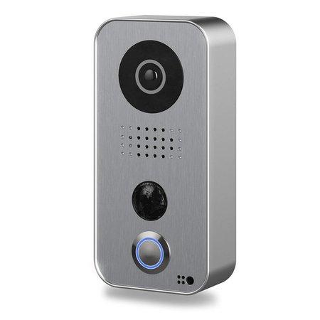 DoorBird D101S Video Deurbel Strato-Silver Edition - Outlet