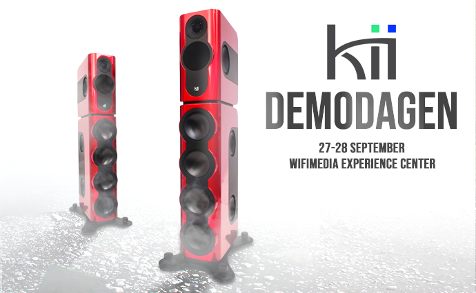 Kii Audio Three Demodagen bij Wifimedia!