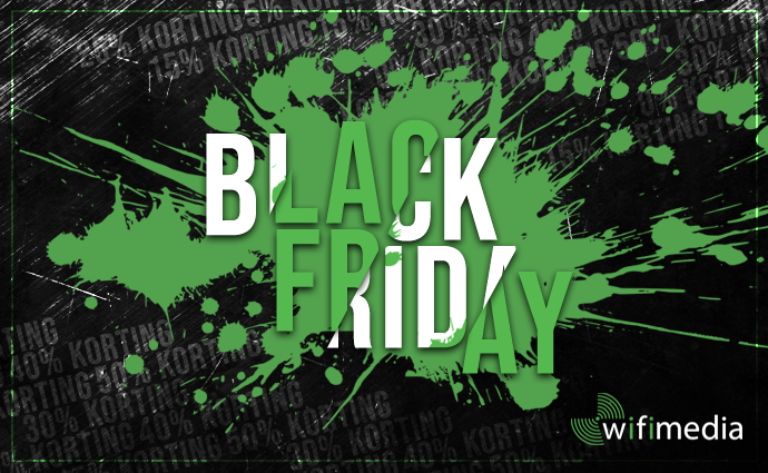 Black Friday bij Wifimedia!
