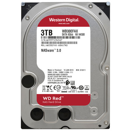WD Red WD30EFAX 3 TB