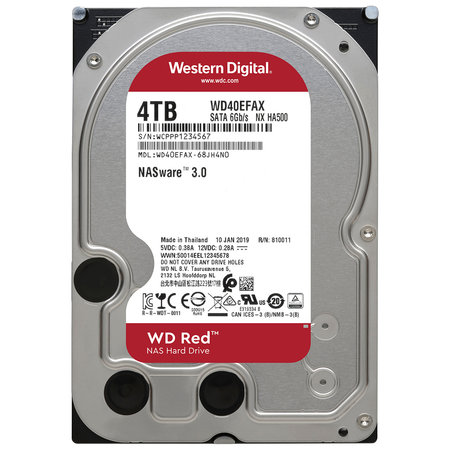 WD Red WD40EFAX 4 TB