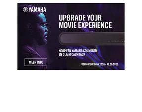 Yamaha Soundbar CashBack