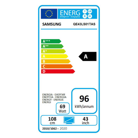 Samsung The Serif 2020 QE43LS01T