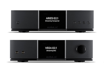 New: The AURALiC Aries G2.1 & Vega G2.1