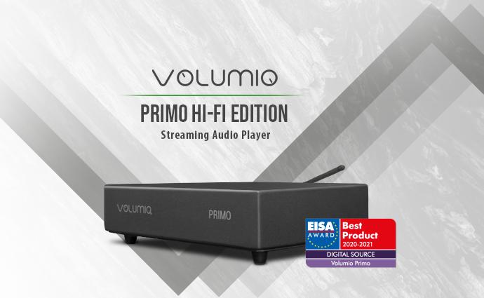 Prestigious EISA Award for Volumio Primo