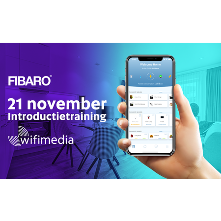 Wifimedia Introductietraining Fibaro