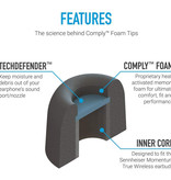 Comply TrueGrip Pro Momentum TW