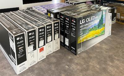 Just arrived: 2021 LG OLED panels