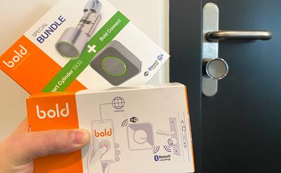 New: BOLD Smart door locks