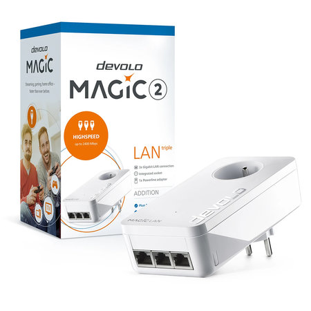 Devolo Magic 2 LAN triple Single