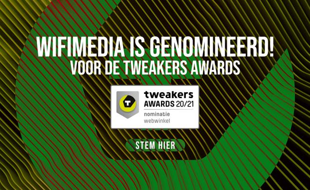 Wifimedia is genomineerd voor de Tweakers Awards 2020/2021!