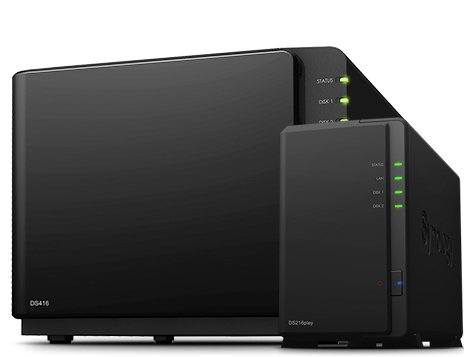 Nieuw: Synology DS216se, DS216play en DS416