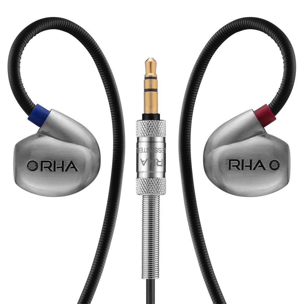 Nieuw bij Wifimedia: RHA in-ear hoofdtelefoons