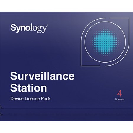 Synology Surveillance Device License 4-Pack (email)
