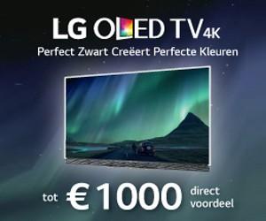 Koop een OLED promotiemodel en ontvang tot 1000 euro kassakorting!