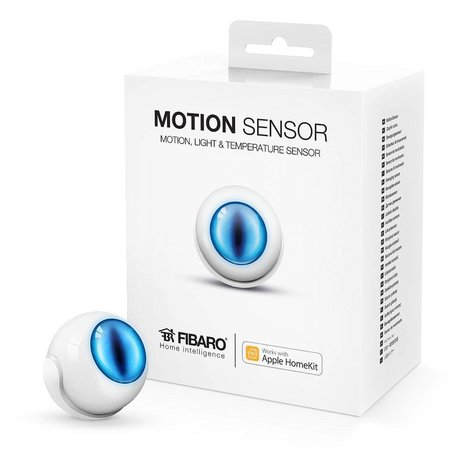 Fibaro Motion Sensor works with Apple HomeKit