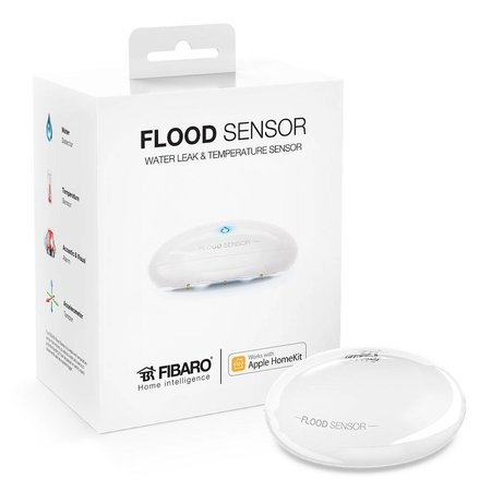 Fibaro Flood Sensor met Apple HomeKit