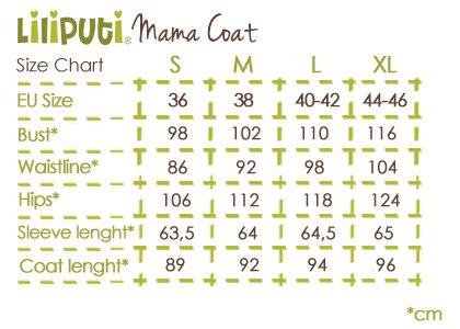 Premium 4 in 1 (!) Tragemantel von Liliputi in petrol, für Schwangerenbauch, vorne/hinten tragen, und auch  danach. Die bunte Taschenöffnungen sind zuklappbar.
