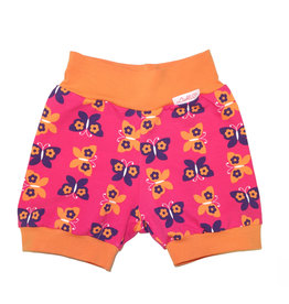 Bunter Short, Schmetterlinge pink