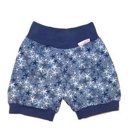 Bunter Short, Seesterne blau