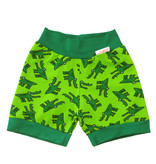 Bunter Short, Krokodil grün