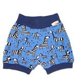Bunter Short, Zebras auf blau