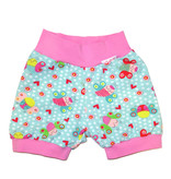 Bunter Short, Schmetterlinge auf mint
