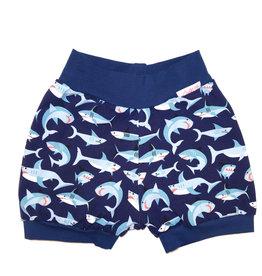 Bunter Short, Haifische dunkelblau