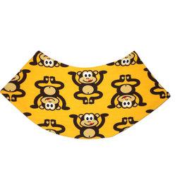 Dreieckstuch Affen auf gelb