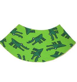Dreieckstuch Krokodil grün
