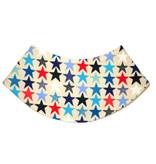 Dreieckstuch Sterne auf beige