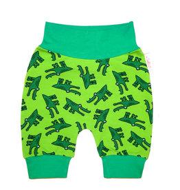 Babyhose / Pumphose Krokodil  grün, Gr. 56, 62, 68