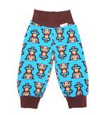 Kinderhose Affen  blau
