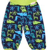 Kinderhose Zootiere dunkelblau-grün