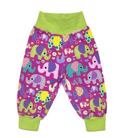 Kinderhose Elefanten lila