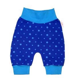 Babyhose / Pumphose, Sternchen blau türkis