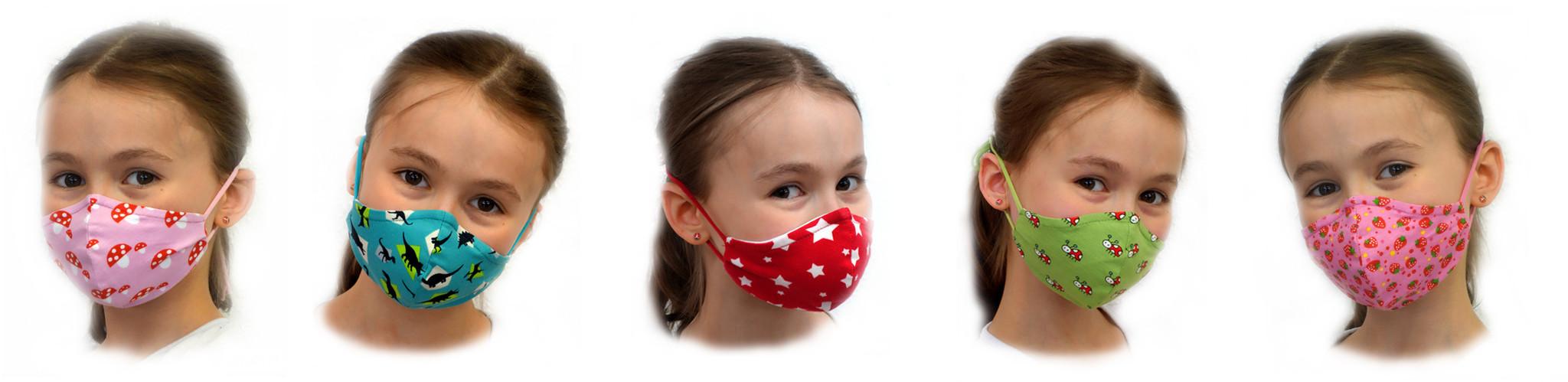 Kindermasken, Stoffmasken, bunte Masken, bunte Kindermasken, schöne Stoffmasken, Kindermasken mit Tieren, bunte Stoffmasken, lustige Kindermasken, schöne Kindermasken