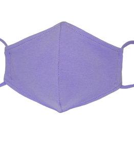 Stoffmaske, Mund-Nasen Maske, hellviolett