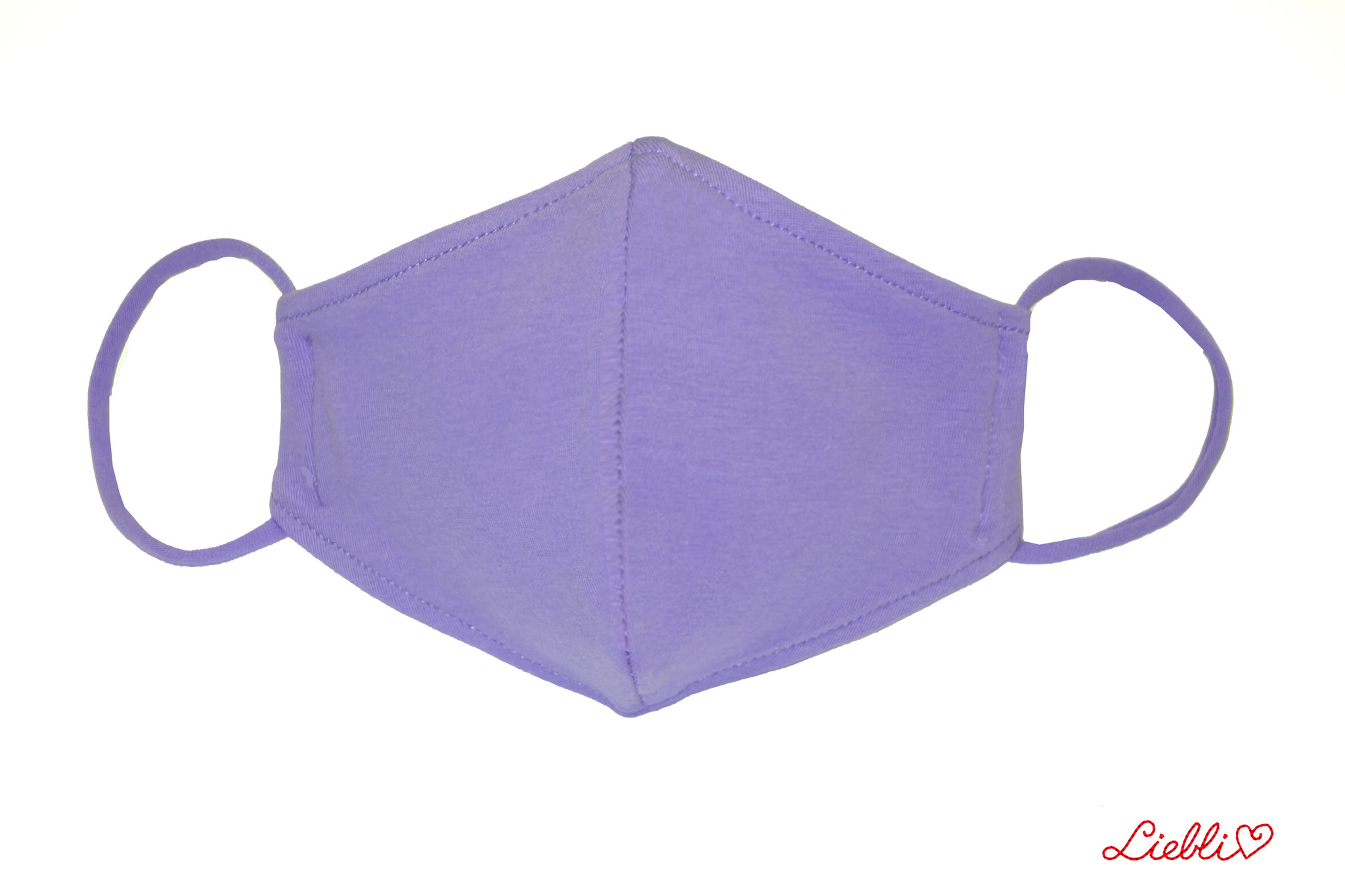 Waschbare, wiederverwendbare Stoffmaske, Mund-Nasen Maske,hellviolett