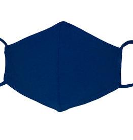 Stoffmaske, Mund-Nasen Maske, dunkelblau