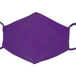 Waschbare, wiederverwendbare Stoffmaske, Mund-Nasen Maske, lila
