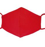 Waschbare, wiederverwendbare Stoffmaske, Mund-Nasen Maske, rot