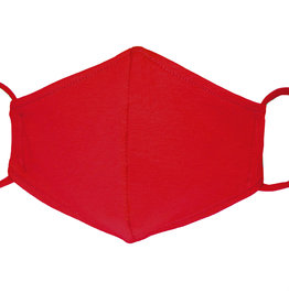 Stoffmaske, Mund-Nasen Maske, rot