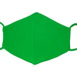 Waschbare, wiederverwendbare Stoffmaske, Mund-Nasen Maske, grasgrün