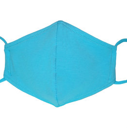 Stoffmaske, Mund-Nasen Maske, türkis