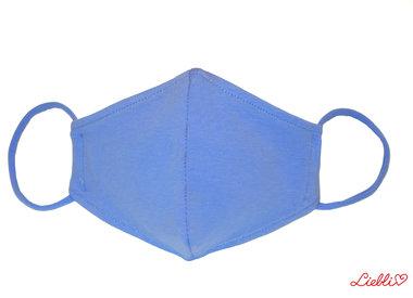 Einfarbige Stoffmasken aus elastischem Jersey