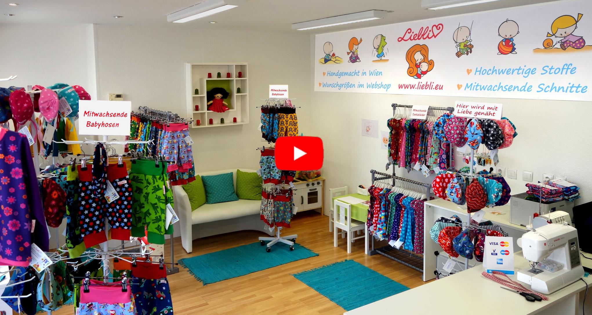 Video: Liebli Kindermode Geschäft