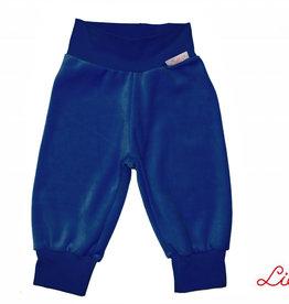 Kinderhose aus Baumwoll-Nicki, dunkelblau